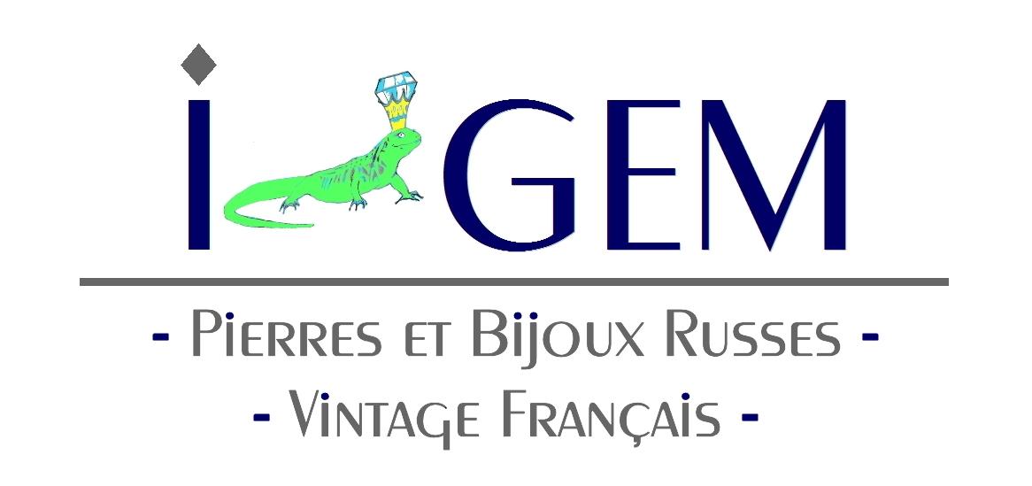 Gemmes, minéraux, artisanat russes - Bijoux vintage français
