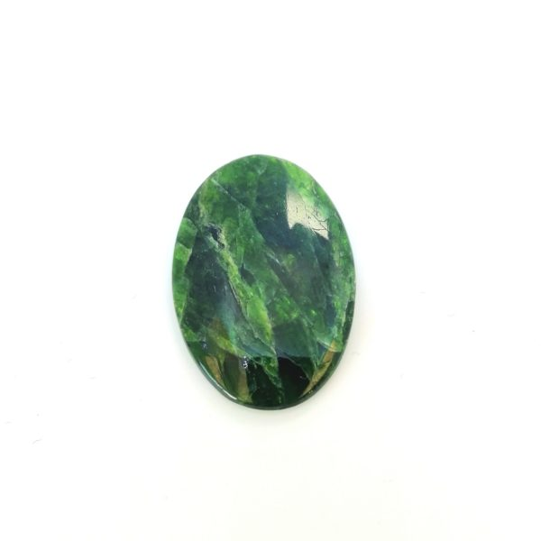Chrome Diopside, pierre naturelle, natural stone – Yakoutie, Russie