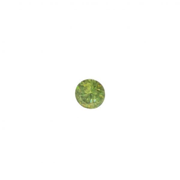 Grenat Demantoide, Natural rare stone with byssolite, 0.25ct – Oural, Russie