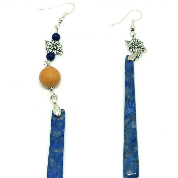 Bijou artisanal, boucles d'oreilles earrings
